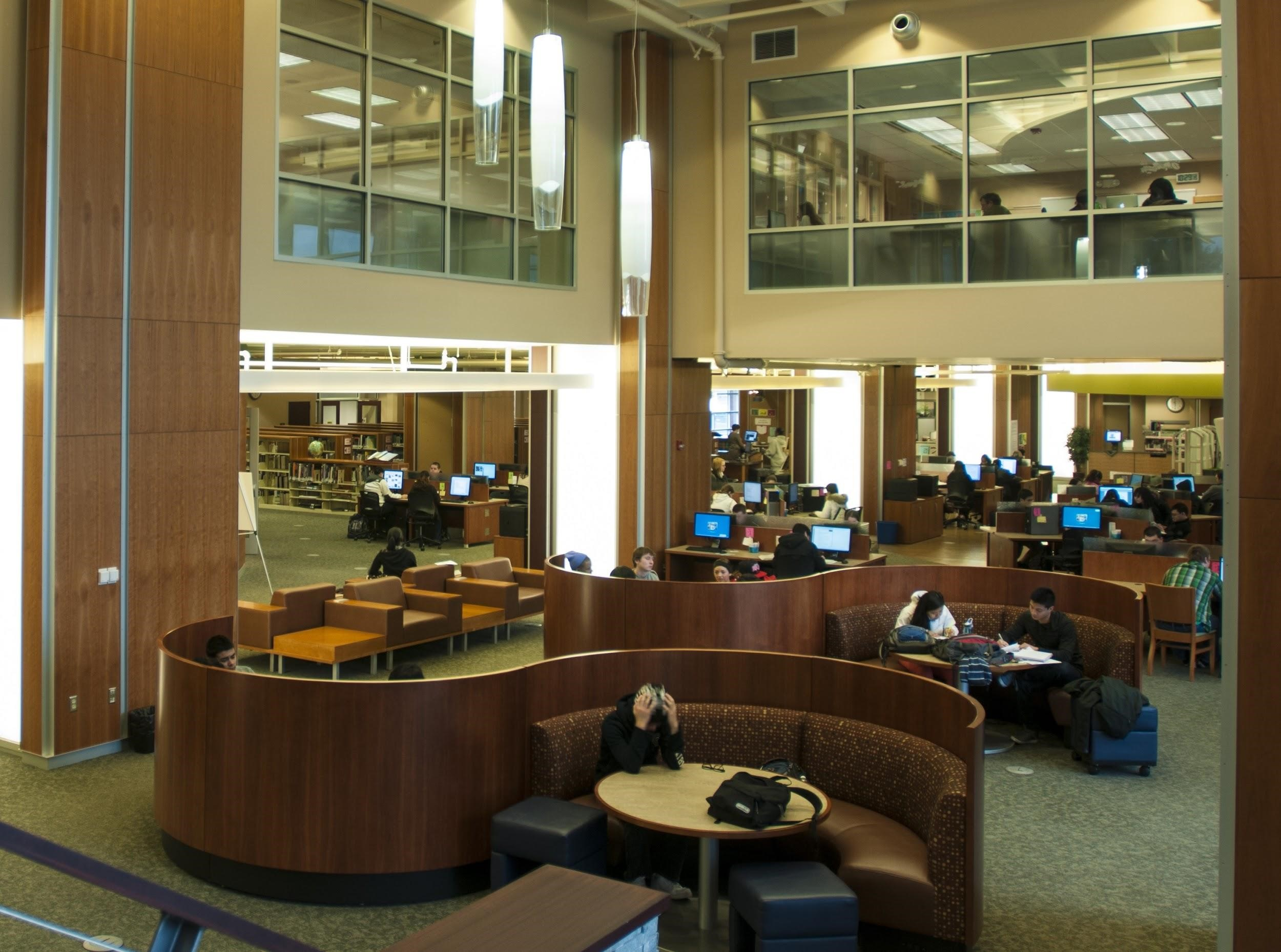 Pierce College Library Ft Steilacoom Campus Instruction