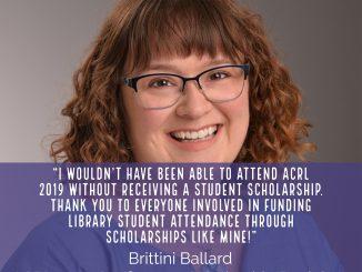 Brittini Ballard scholarship testimonial