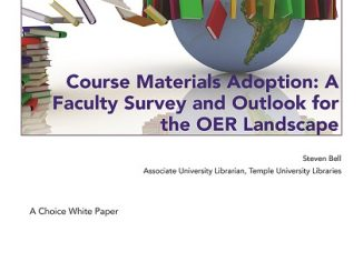 Choice OER white paper cover