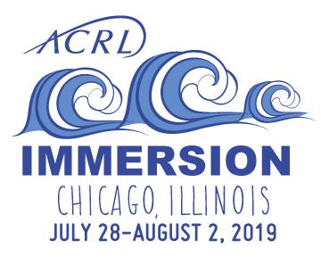 ACRL Immersion 19 logo