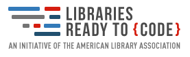 Libraries Ready to Code logo