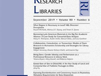 C&RL September 2019 cover