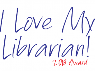 2018 I Love My Librarian Award logo