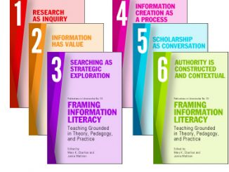 Framing Information Literacy cover
