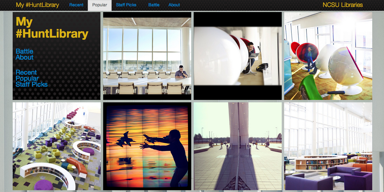 My #HuntLibrary: Using Instagram to Crowdsource the Story of a New Library
