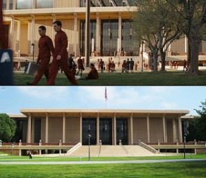 Oviatt Library as Star Fleet Academy